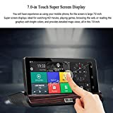 7.0 inch Car Stereo Touch Screen Bluetooth 3G Version Android GPS Navigator DVR Rearview Mirror WiFi Car DVR with '' North America '' Map Full HD1080P Car DVR Auto Reverse Parking View Function