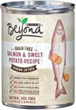 Image of Purina Beyond Wet Dog Food, Grain Free Salmon & Sweet Potato Recipe, 13-Ounce Can, Pack of 12