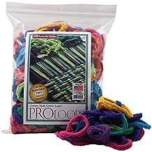 "Harrisville Designs PRO 10"" Cotton Loops, Multiple Color Pack - Makes 2 Potholders"