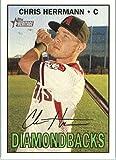 2016 Topps Heritage High Number #695 Chris Herrmann Arizona Diamondbacks