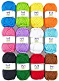 Mira Handcrafts Acrylic 1.76 Ounce(50g) Each Large