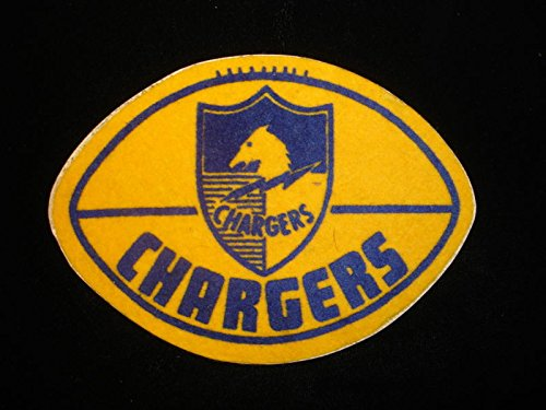 Circa Late 1960's San Diego Chargers Felt Logo - 5? x 4?