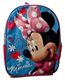 Minnie Mouse Bundle Back to School Toddler Pre-school Elementary Girls Backpack Middle 12 Inches