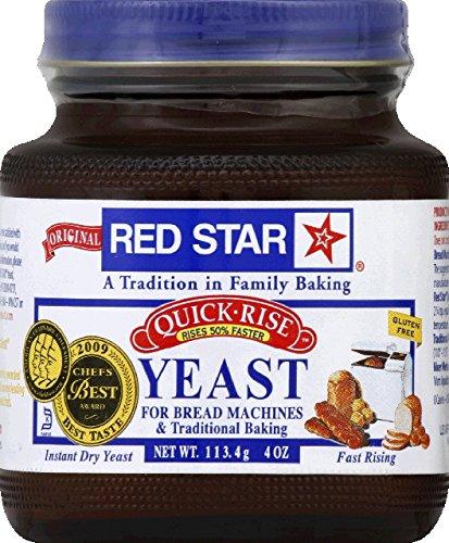 Red Star Bread Machine Yeast, 4oz Jar (Bread For Bread Machine compare prices)