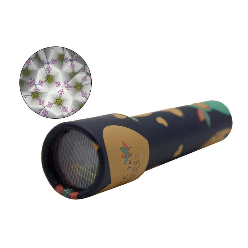 6PCS Caleidoscopio Giratorio M/ágico Caleidoscopio de Papel de Dibujos Animados Escena Interior Variable Juguetes Educativos para Ni/ños