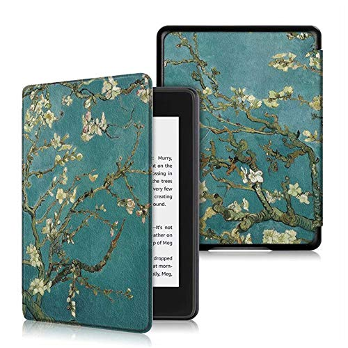 Folio Case for Kindle Paperwhite (Fits All-New 10th Generation 2018 / All Paperwhite Generations) Premium PU Water-Safe Protective Sleeve Cover With Auto Sleep/Wake