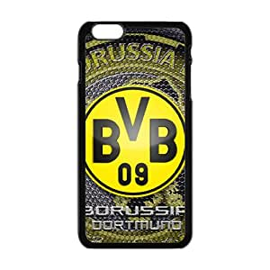 For iphone 6 Plus Black Custom Phone Case for Borussia Dortmund 11 diseño