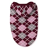 East Side Collection Acrylic Hooded Argyle Dog Sweater, Medium, 16-Inch, Raspberry, My Pet Supplies