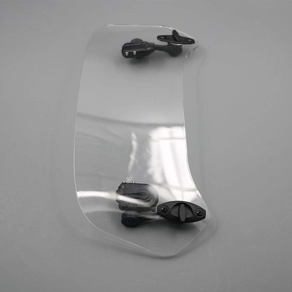 Alpha Rider Moto Risen r/églable Vent /écran Pare-Brise Spoiler D/éflecteur dair pour T Riumph Tiger 800/955/1050/Hon DA NC 700/750/Aprilia