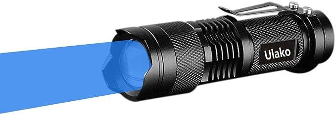 Icefire K1 Portable Torche DEL Zoomable Lampe de poche lumière 2000 LM