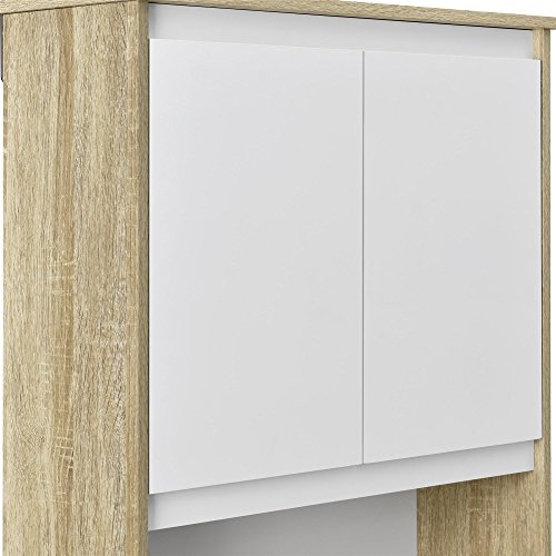 Ameriwood Home Stafford Storage Cabinet Weathered Oak by Ameriwood Home (Image #6)