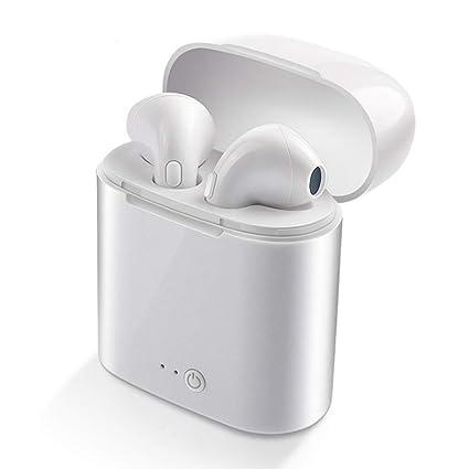 UMCCC Auricular Bluetooth Inalámbrico 5.0 Mini Binaural Tipo de Auricular de Gran Capacidad 2500Ma Teléfono Móvil