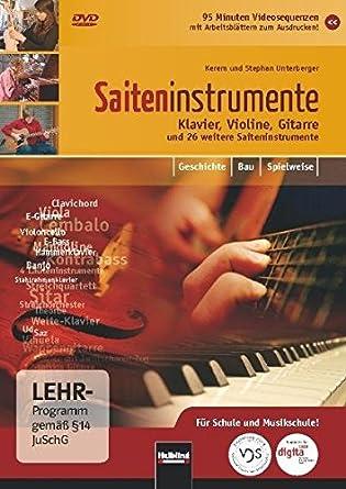 Amazon.com: Saiteninstrumente - Klavier, Violine, Gitarre [Alemania ...