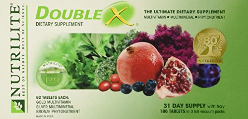 NUTRILITE® DOUBLE X® Vitamin/Mineral/Phytonutrient - Case with 31-day Supply by Nutrilite