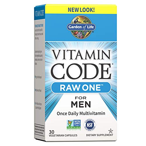Garden of Life Vitamin Code Raw Once Daily Multivitamin for Men