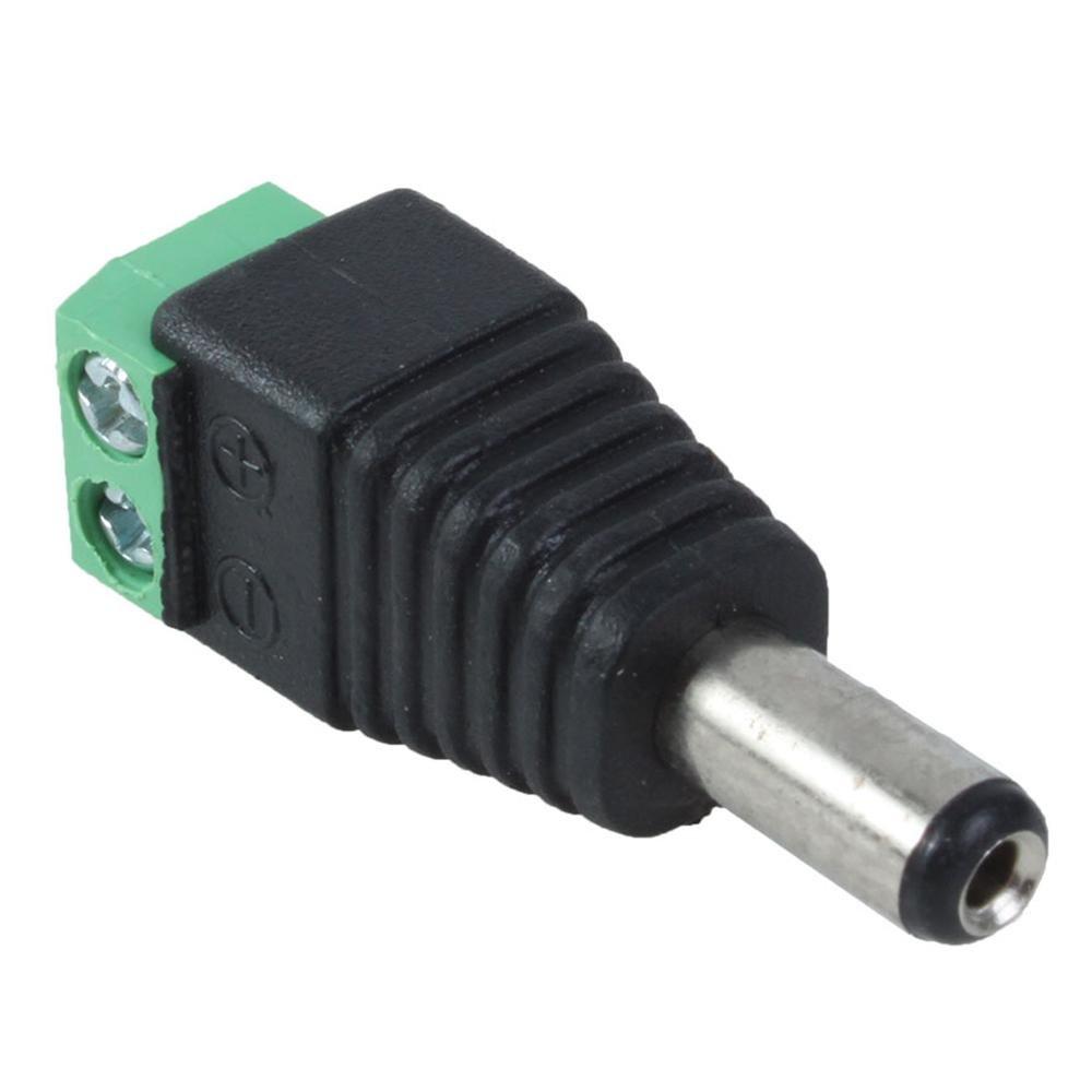 Amazon.com : 10 Pack 2.1mm x 5.5mm Male CCTV Camera DC Power Adapter :  Security Camera : Camera & Photo