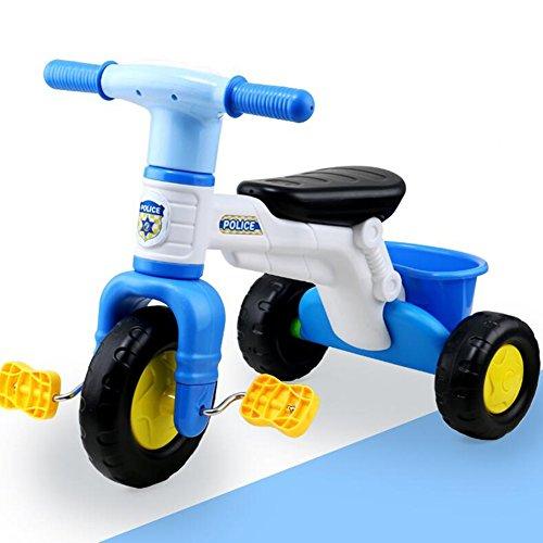 XQ Enfant Écumant Antichoc Léger Léger De Roue 1-3 Ans Chariot De Bébé De Chariot - Bleu