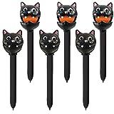 Educational Insights Halloween Puppet-on-a-Pen Black Cat, Set of 6