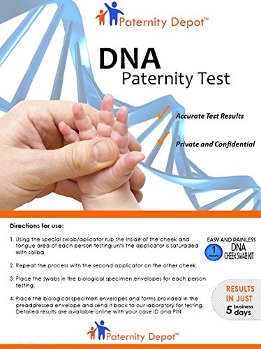 Amazon Com Paternity Depot Paternity Test Kit With All Lab Fees