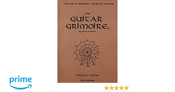 Amazon.com: Carl Fischer The Guitar Grimoire - Chords and Voicings ...