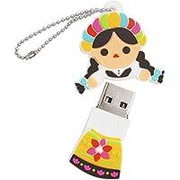 By Mexico USB modelo Muñeca María 16 GB
