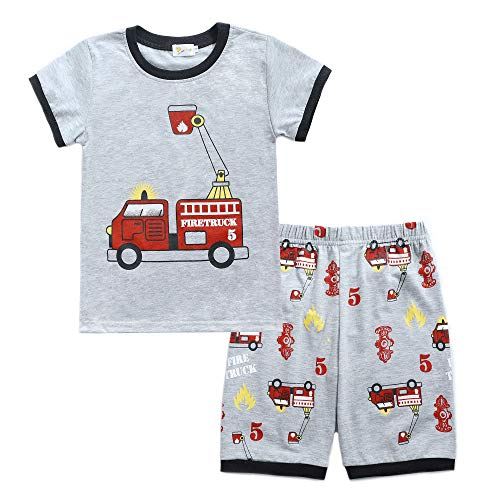 Toddler Boys Pajamas Easter Little Kids Pjs Dino Sleepwear 2 Clothes Sets Outfit