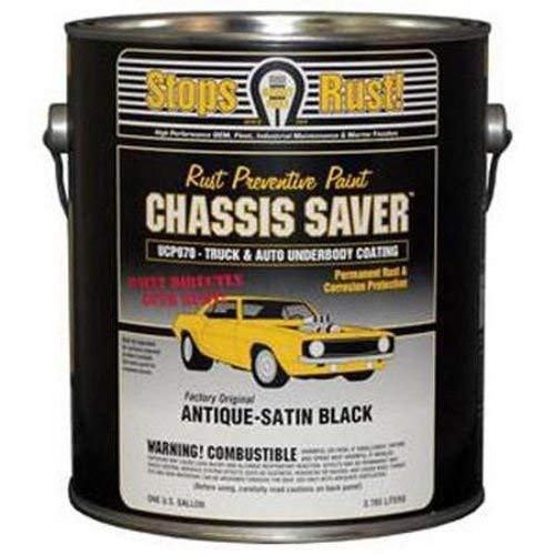 Magnet Paint Co Chassis Saver - Satin Black - MPC-UCP970-01 (Gallon) by Magnet Paint