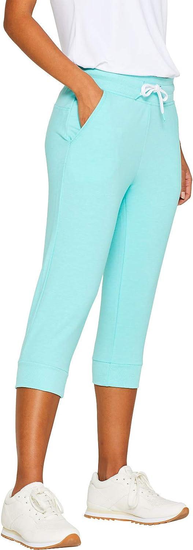 ESPRIT Sports Sweat Capri Ml Pantalones Deportivos para Mujer