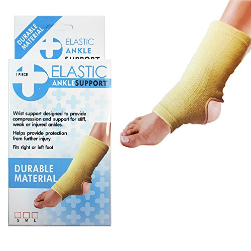 1 Elastic Ankle Support Low Calf Brace Tendinitis Pain Relief Protection S M L