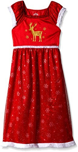 Girls Christmas Nightgown - 7