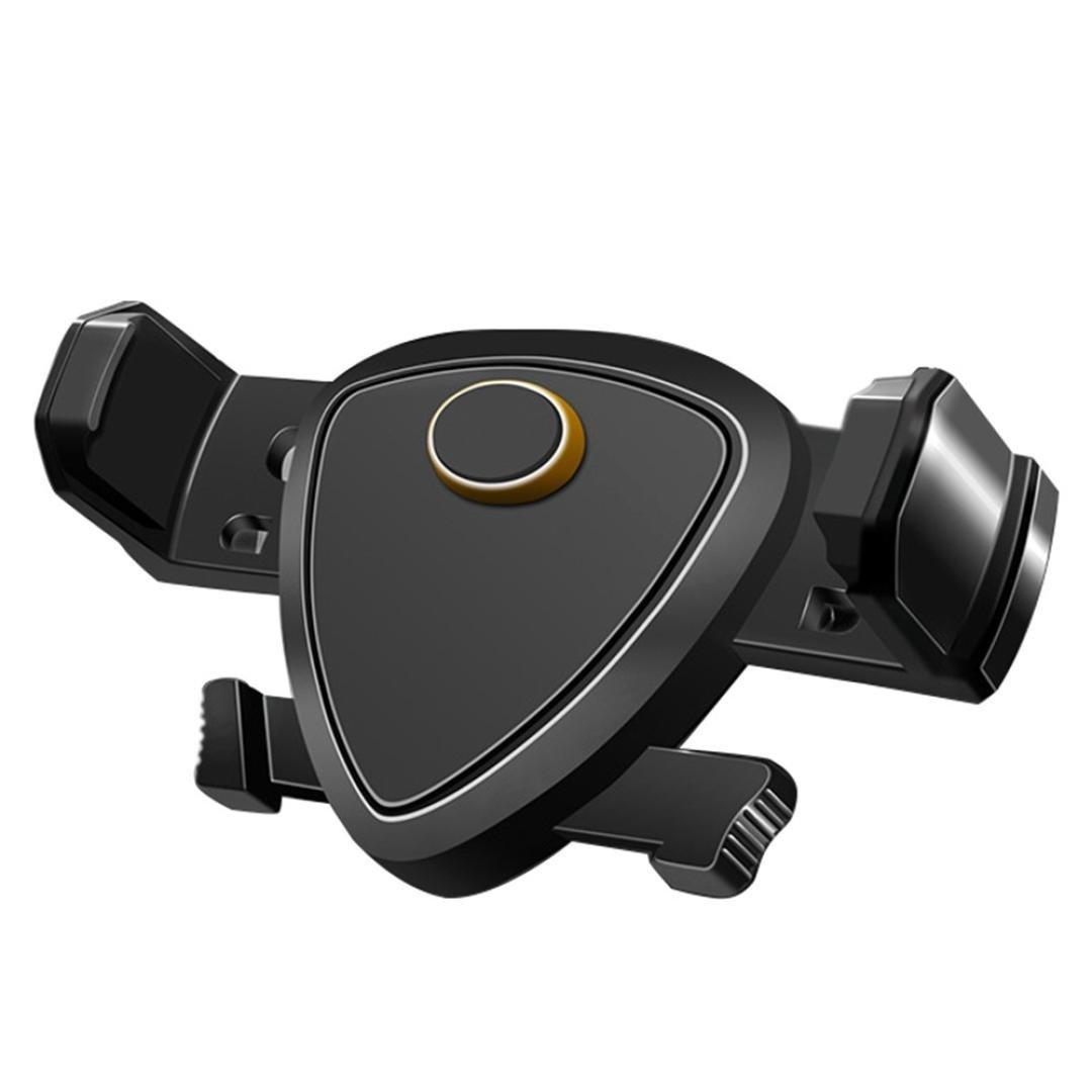 Glumes Car Magnetic Mount, Seat Hook Universal Air Vent Magnetic Phone Car Mounts Holder for iPhone X 8 7 Plus 6S 6 5s 5 SE, Galaxy S9 S8 S7 S6 Edge, LG G6, Note 8 5 4 2 and Mini Tablet (Black)