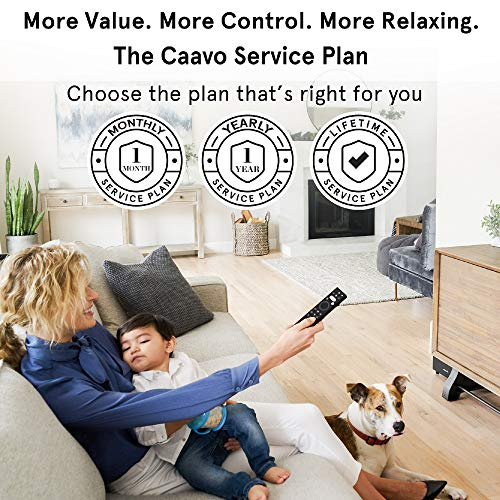 Caavo Control Center PLUS LIFETIME PLAN, Universal Remote Home Theater Hub with Voice Control works with Roku, Apple TV, Fire Stick TV, nVidia Shield, Alexa, Sonos, Xbox One, PS4 and other A/V Devices by Caavo (Image #5)