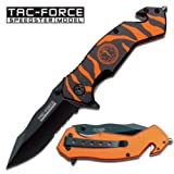 Tac Force TF-714BOR Tactical Assisted Opening Folding Knife 4.75-Inch Closed, Outdoor Stuffs