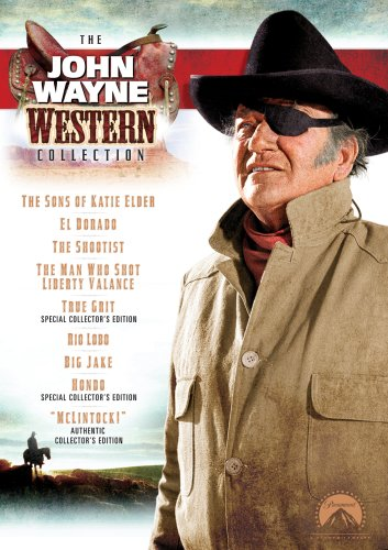 The John Wayne Western Collection (The Man Who Shot Liberty Valance / True Grit / Hondo / McLintock! / Big Jake / The Shootist / Rio Lobo / The Sons of Katie Elder / El Dorado) by John Wayne