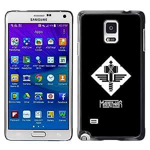 BearCase / Cubierta de protección Caso duro de la contraportada de Shell Plástico /// Samsung Galaxy Note 4 /// MANOWAR