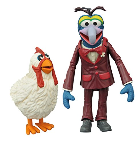 Diamond Select Toys - Muppets: Select Series 1 Gonzo and Camilla Set - Multi SEP158429