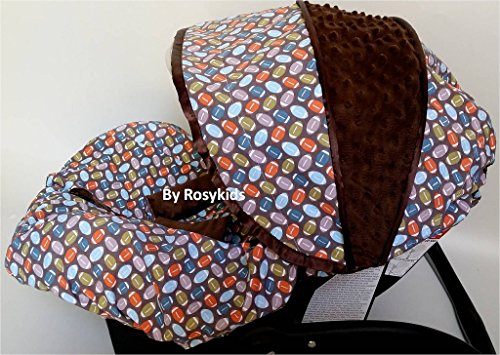 Infant Carseat Canopy Cover 3 Pc Whole Caboodle Baby Car