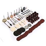 91pcs Electric Polishing Kit Dremel Rotary Tool Accessory Set for Grinding Sanding Polishing