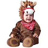 InCharacter Baby Boy's Playful Pony Costume, Brown, Small (6-12months)
