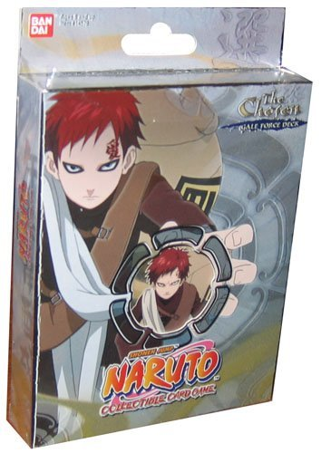 Naruto Collectible Trading Card Game The Chosen Theme Deck Starter - Gale Force Deck - Naruto Starter Decks Ccg