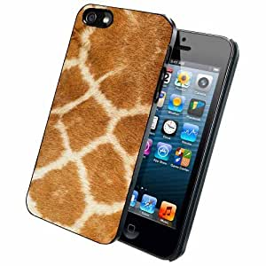 Giraffe Animal Print - Case Back Cover (iPhone 4/4s - Dual Layer)