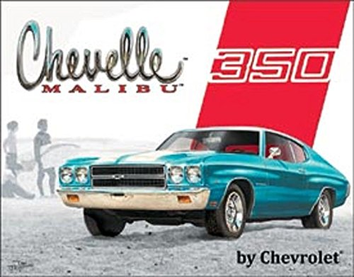 CHEVELLE MALIBU BY CHEVROLET HOT RODS V8 MUSCLE CAR BEACH 12.5