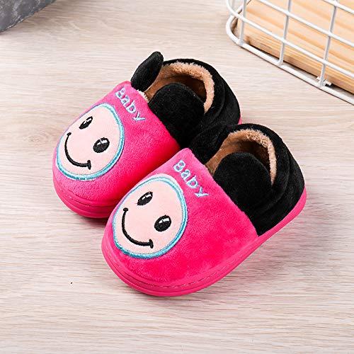 3-8T No Ear TTMOW Toddler Boys Girls Anti-Slip Slippers Fluffy House Slippers Warm Cute Slipper