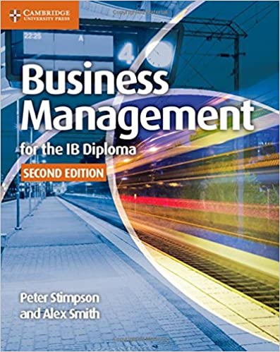 Business Management For The Ib Diploma Coursebook Peter Stimpson