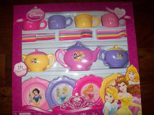 Save & Disney Princess Dinnerware Dish Tea Set 26 Pieces (styles and colors ...