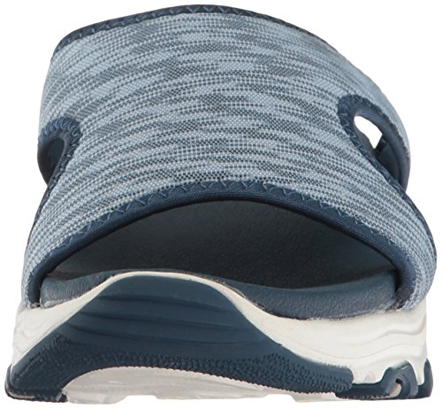 Skechers Cali Womens DLites-Cool Footings Wedge Sandal Blue