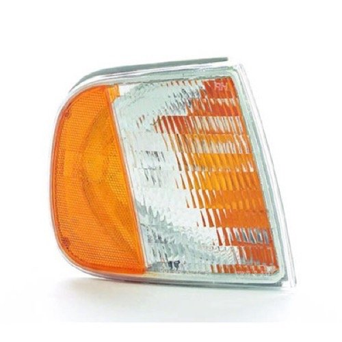 Go-Parts » 1997-2003 Ford F-150 Side Marker Light Assembly Replacement/Lens Cover - Front Right (Passenger) Side - (King Ranch + Lariat + XL + XLT) F75Z 13200 AC FO2551118