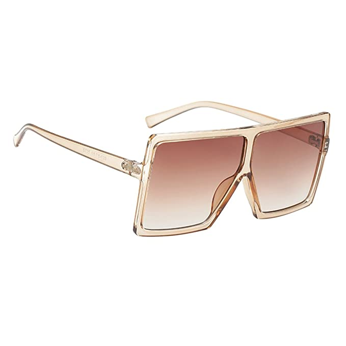 6ca44730aec5 MagiDeal Women Vintage Rectangle Sunglasses UV400 - Champagne, as  described: Amazon.co.uk: Clothing