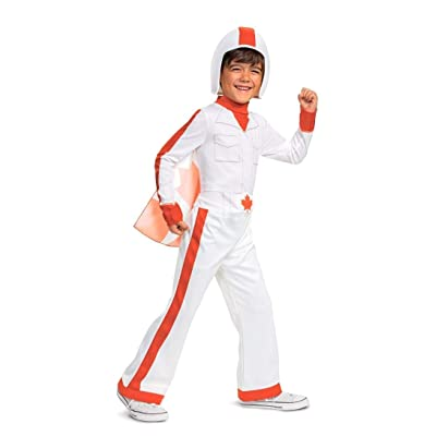 Toy Story Duke Caboom Costume White: Clothing