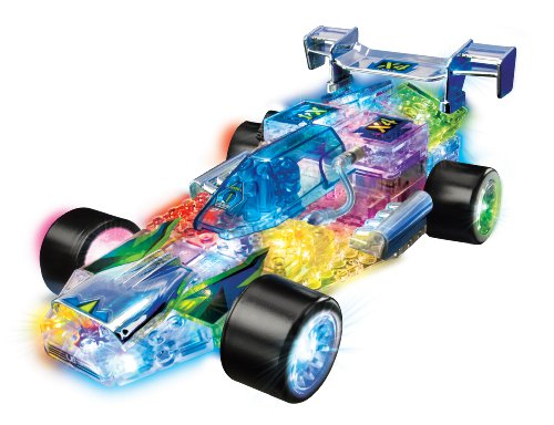 lighted cars and track - 6